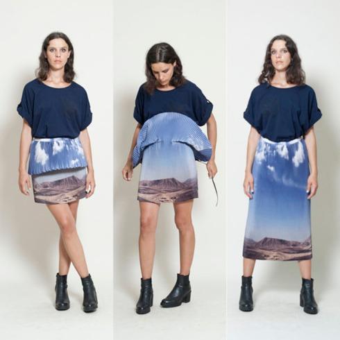 Fun fashion, Summer fashion, Landscape photography on clothes, photography, design