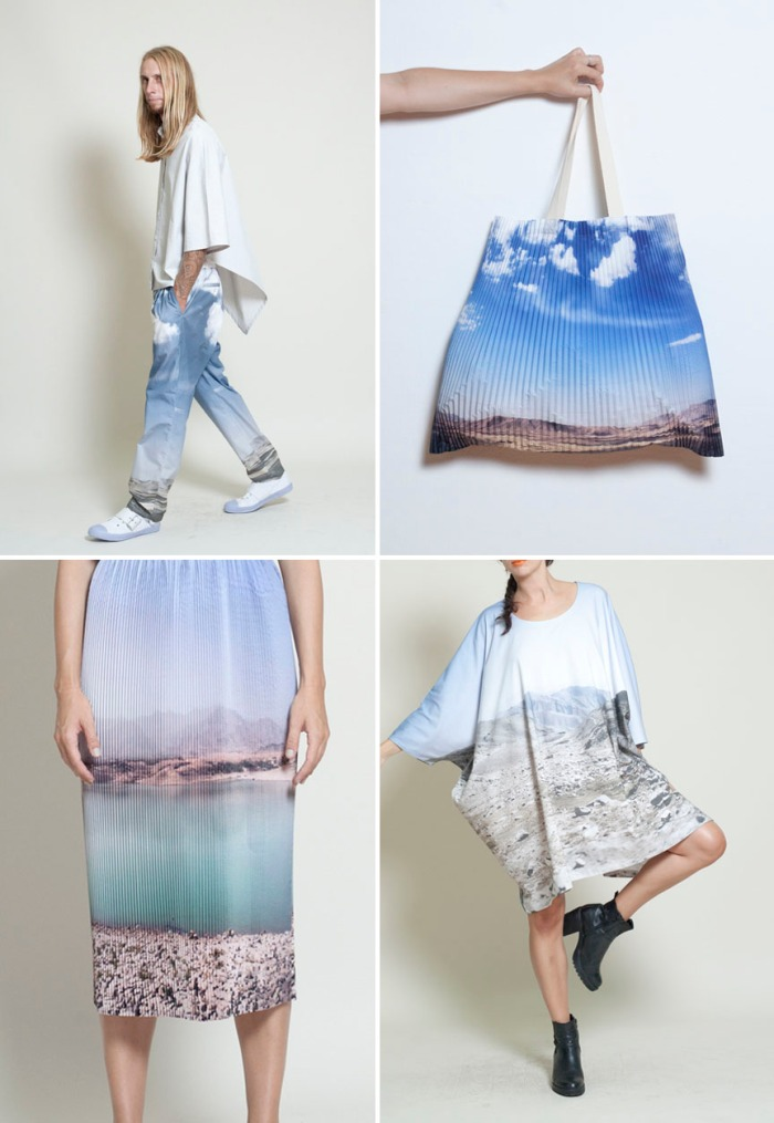 Fun fashion, Summer fashion, Landscape photography on clothes, photography, design