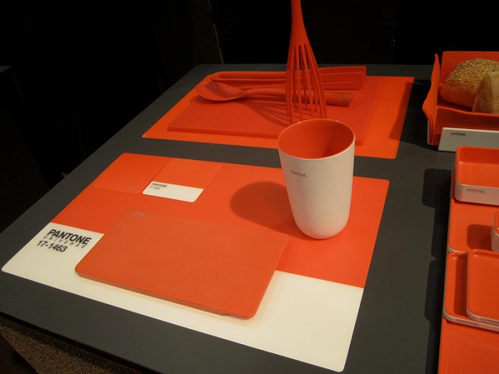 Pantone Universe, Placemats, coasters, cups, kitchenware, cool, fun, NY Gift Show 2012