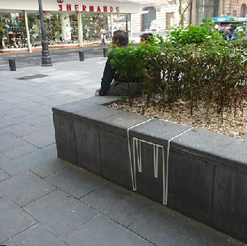 Ludens,Ivan Hernandez-Quintela, Urban Prosthetics, street art, Mexico city