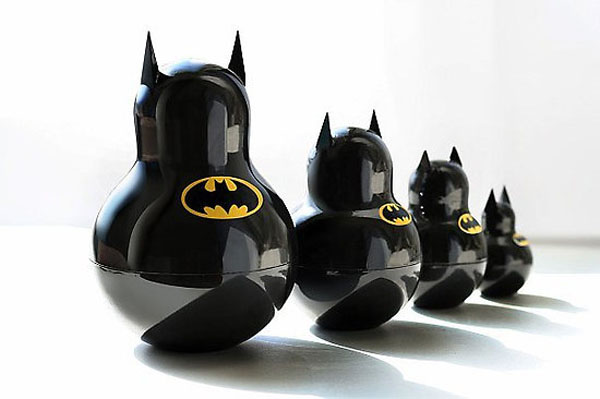 Matroyshka, Contemporary Russian Nesting Dolls, Toys, Batman, Russian Design, collabcubed