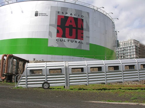 The Tank, Cultural Space in Santa Cruz de Tenerife, Oil tank converted to performance, exhibit space