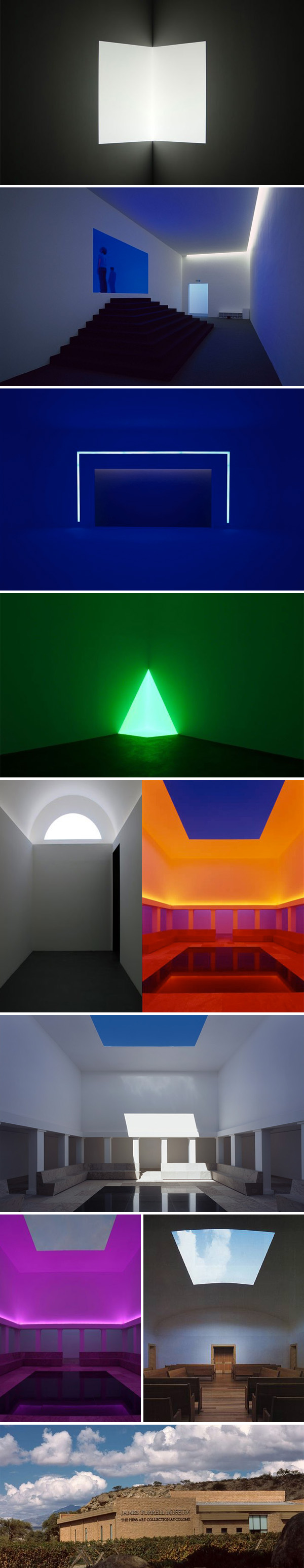 James Turrell, Light installations, contemporary art, Estancia Colomé, Hess Collection