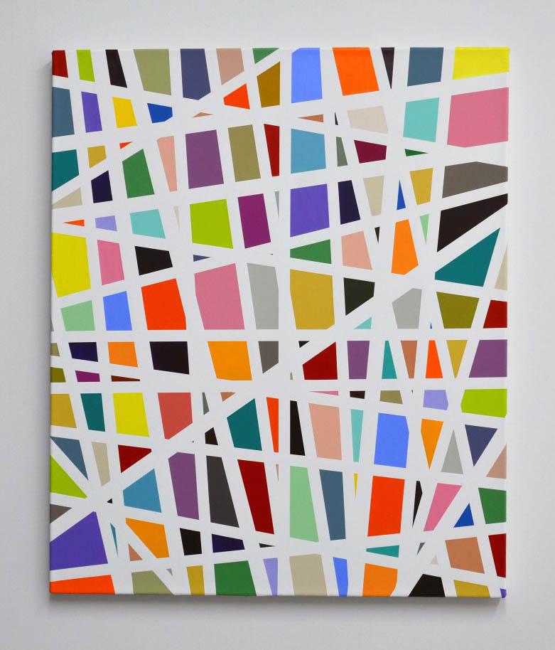 Straight Line Modern Art : Kyle jenkins intuitive abstraction