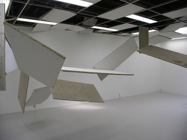 Dutch art installation, collapsing ceiling, tremor laquearia, remon de jong, collabcubed