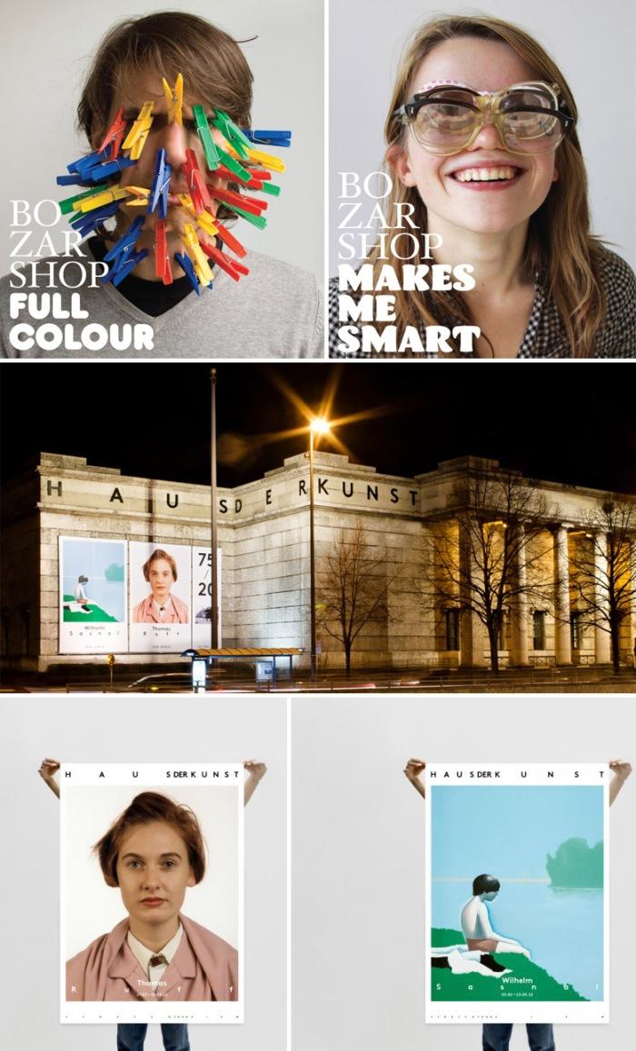 Branding, Graphic Design, Museum Logos, Clever logos, Haus der Kunst, Base Design