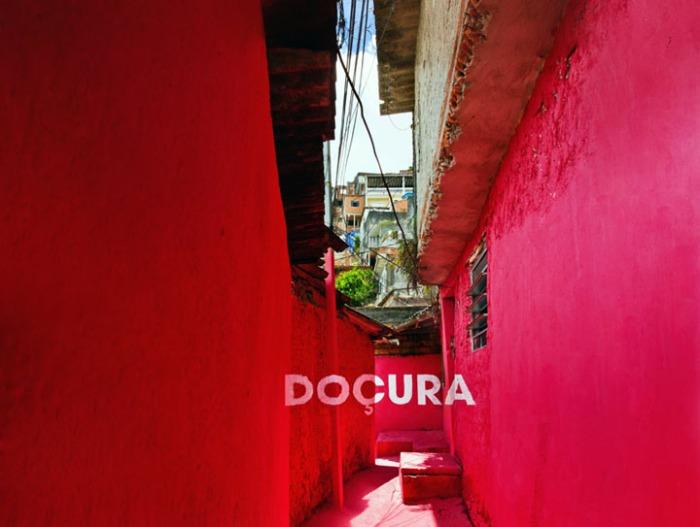 typography, street art, graffiti, Brazilian Favela, Brasilandia, Sweetness, color, collabcubed