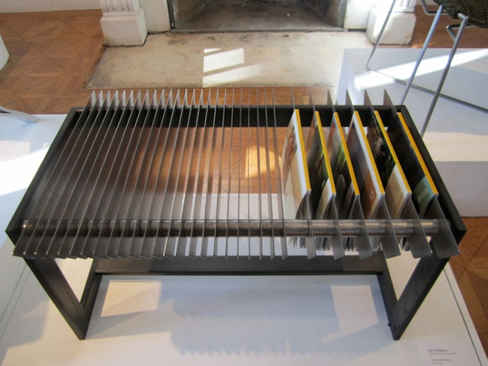 Brett Newman, Magazine Bench, RISD Senior ID Show 2012, furniture, industrial design