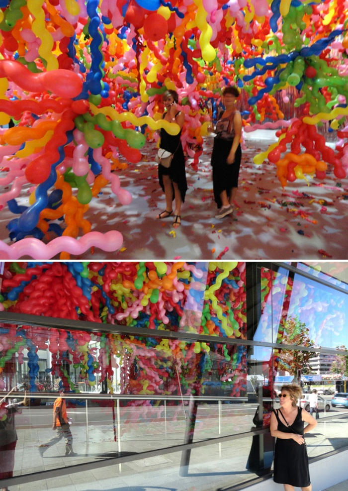 Contemporary Korean Pop Art, Perth Arts Festival 2012, Balloon art installation, cool, Choi Jeong Hwa