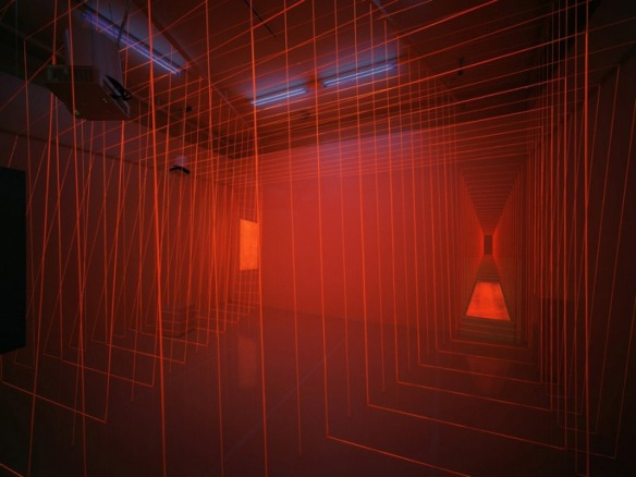 Light installation, cool art installation, multimedia art, electrical engineering, Alexander Burkle Anniversary