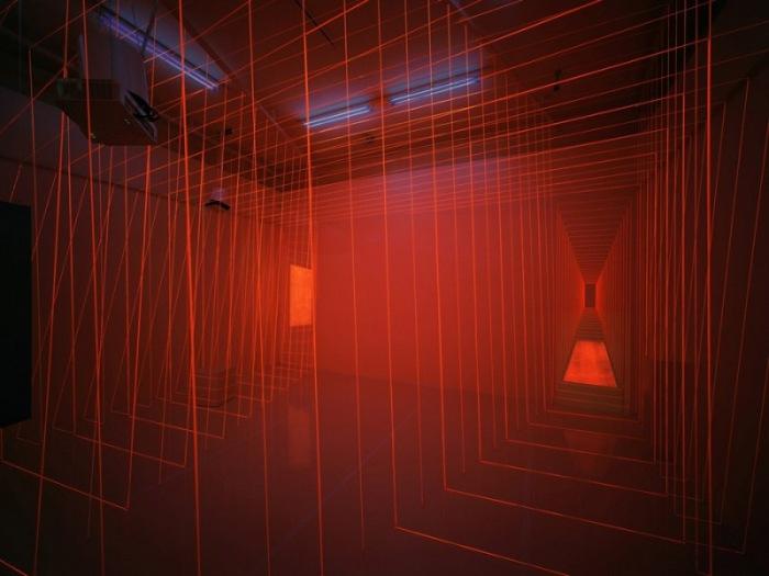 Light installation, cool art installation, multimedia art, electrical engineering, Alexander Burkle Anniversary