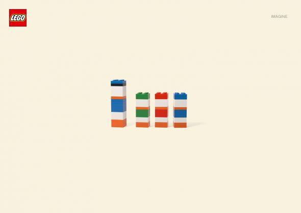 Lego Donald Duck collabcubed