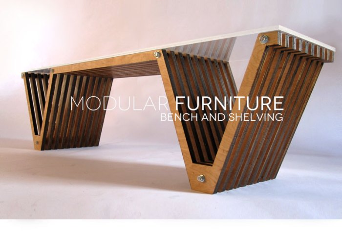 Furniture Design, Rhode Island School of Design, RISD Industrial Design, Bench, Shelving