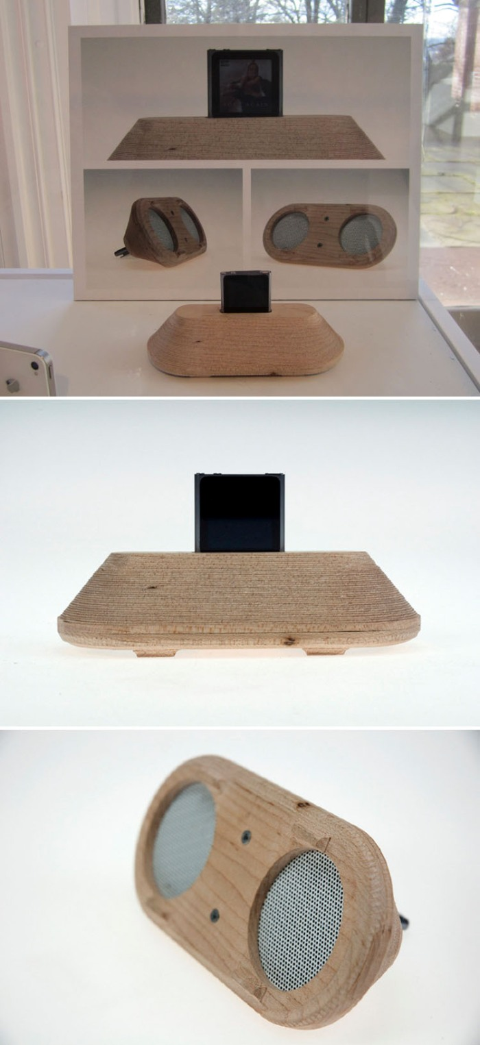 Oliver Henderson, Nano, Ipod, speakers, design, RISD Industrial Design 2012