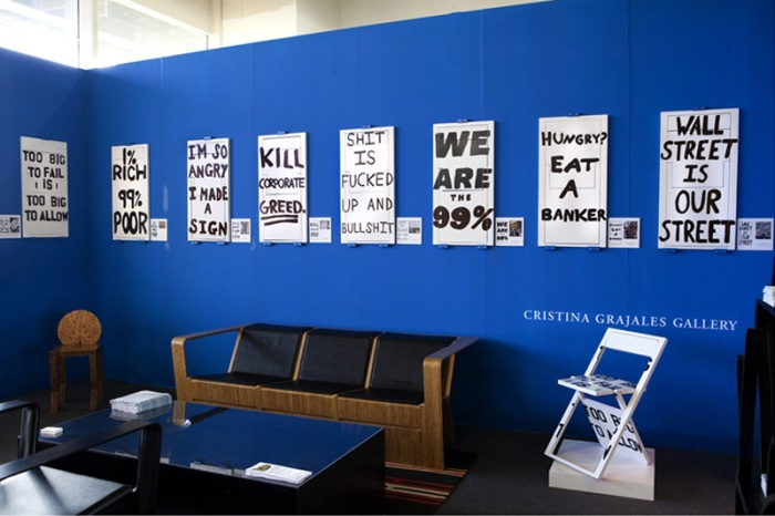Occupy Wall Street Chairs, OWS, the 99 Percent, 99%, the 1%, Occupy Chairs, furniture design, contemporary art