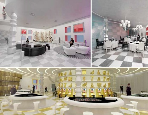 Casino Valencia, VLC, Student Project, Vicente Ortuno, Escuela de diseno Barreira