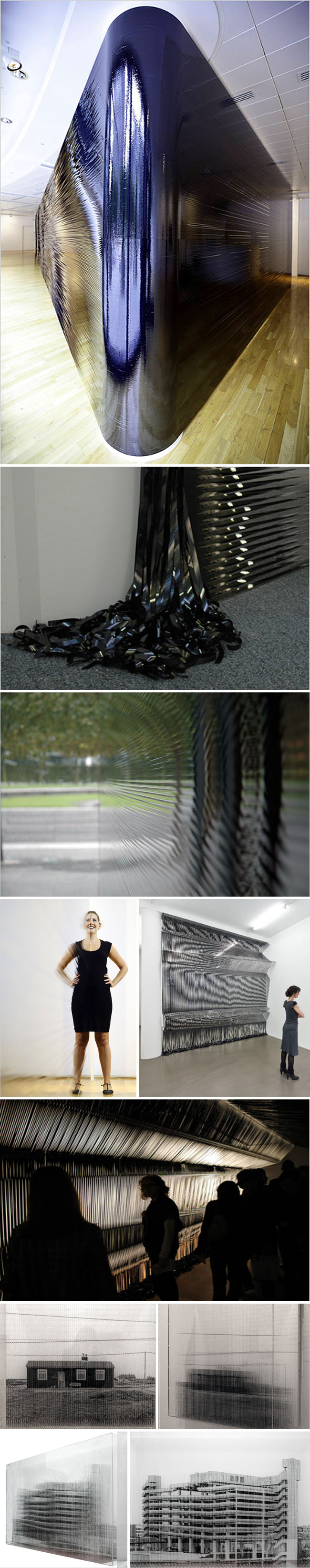 videotape installations, Robert currie, English Artist