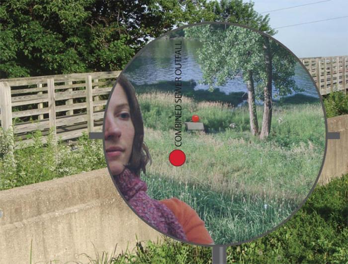 IMA, Mary Miss, Environmental art exhibit, art installation, Nature, sustainability, interactive art