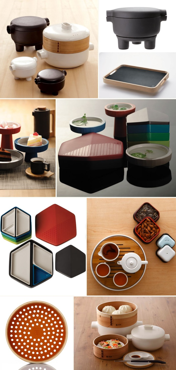 Contemporary Chinese tableware, JIA, industrial design, product design, beautiful kitcheware, stylish kitcheware