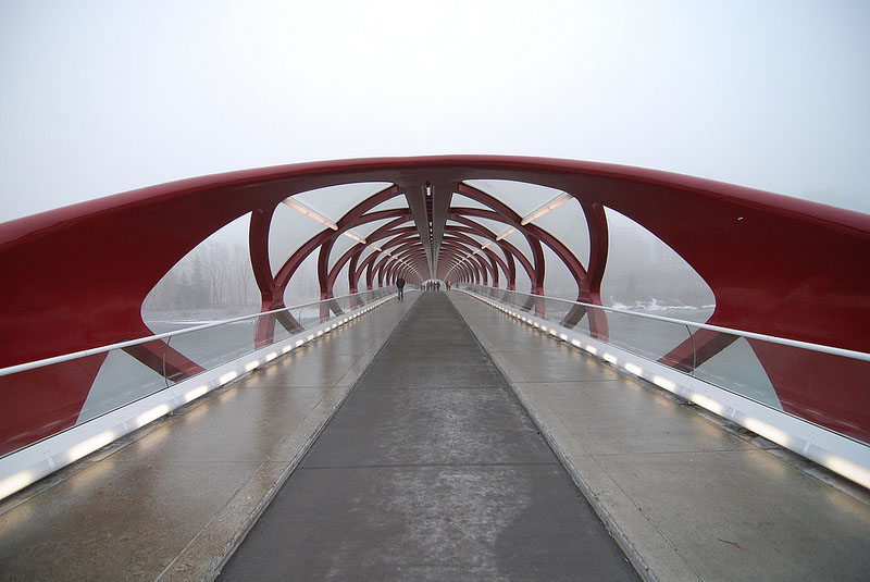Peace Bridge Santiago Calatrava Collabcubed