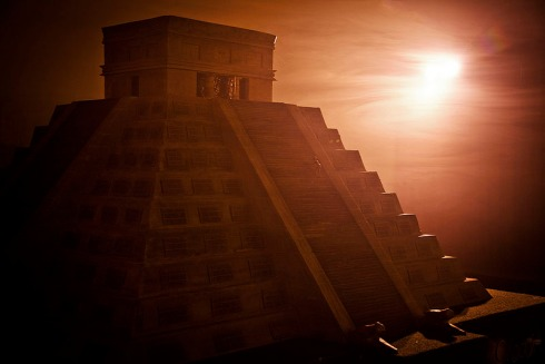 Guiness Book of world's records largest chocolate sculpture, Chocolate Pyramid, Chocolate Mayan Temple, Food Art, Cool