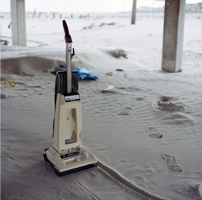 Striking photographs documenting post-hurricane Ike destruction in Galveston, Texas. Sandy Carson Photography