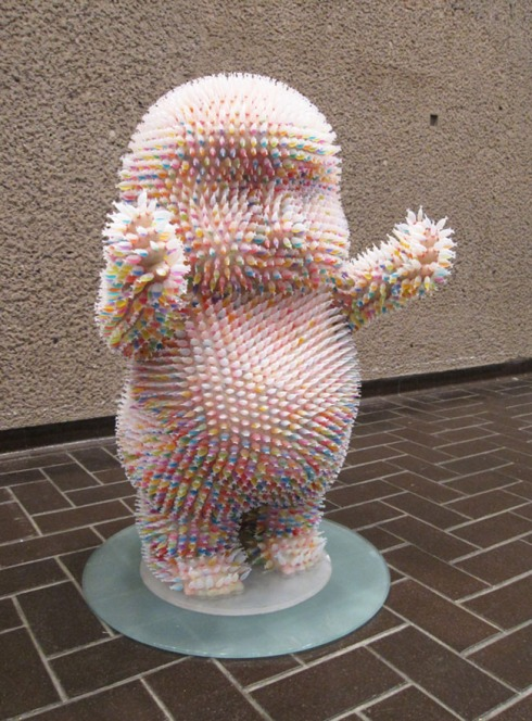 Fish soy sauce container sculptures, Three Studio, Tokyo Baby, Contemporary Japanese Art, Cool Sculptures