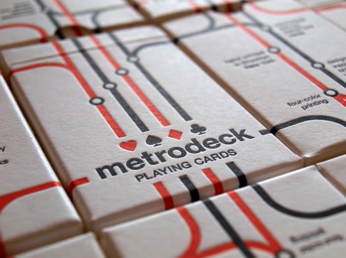 Repurposed metrocards silkscreened and converted to playing cards, metro cards as Playing cards