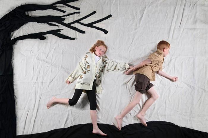 Dreamlike photo series, taken from above, Naama Israel, israeli photographer, Fantasy Series