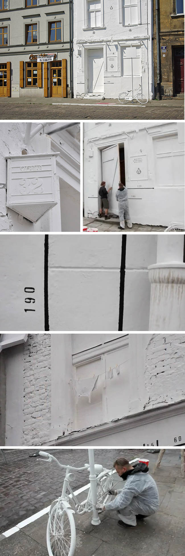 Street Art in Poland, Demolition Project part of Artboom Festival, Robert Kusmirowski