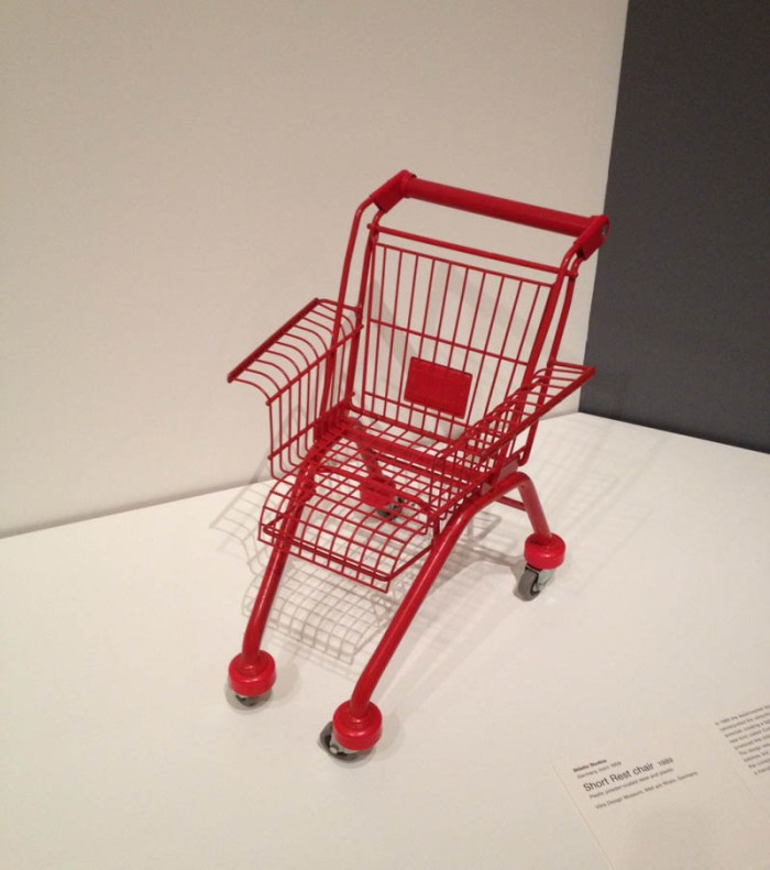 shopping cart chair for children, Frank Schreiner, Stiletto Studios, Vitra, fun chair design