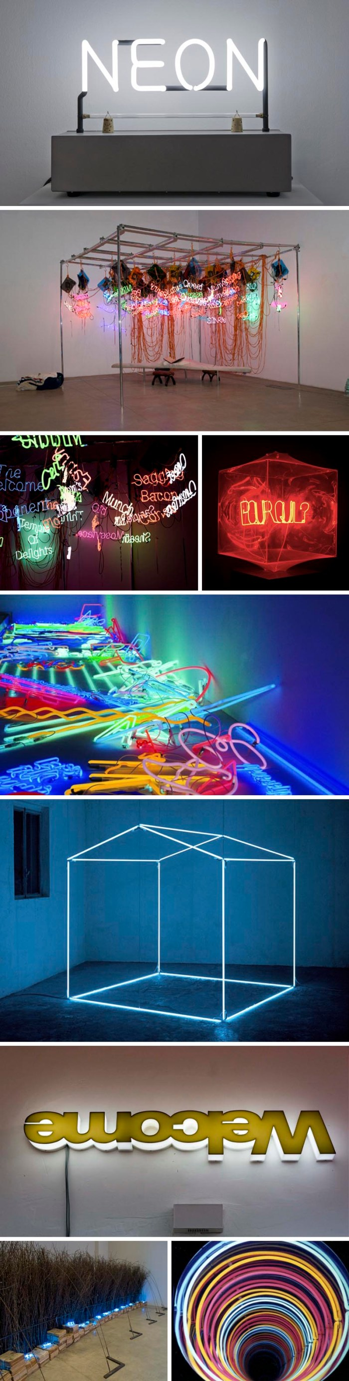 Neon: La materia luminosa dell'arte at MACRO, Museum of Contemporary art of Rome, Neon retrospective