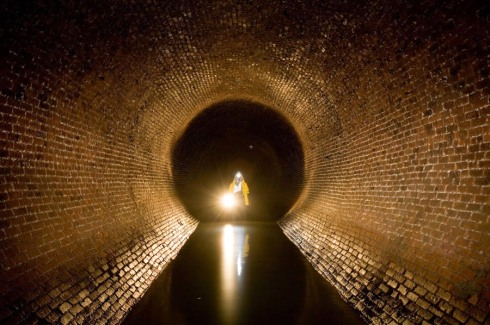 Photographs of sewers and undercity infrastructure, Steve Duncan, Undercity