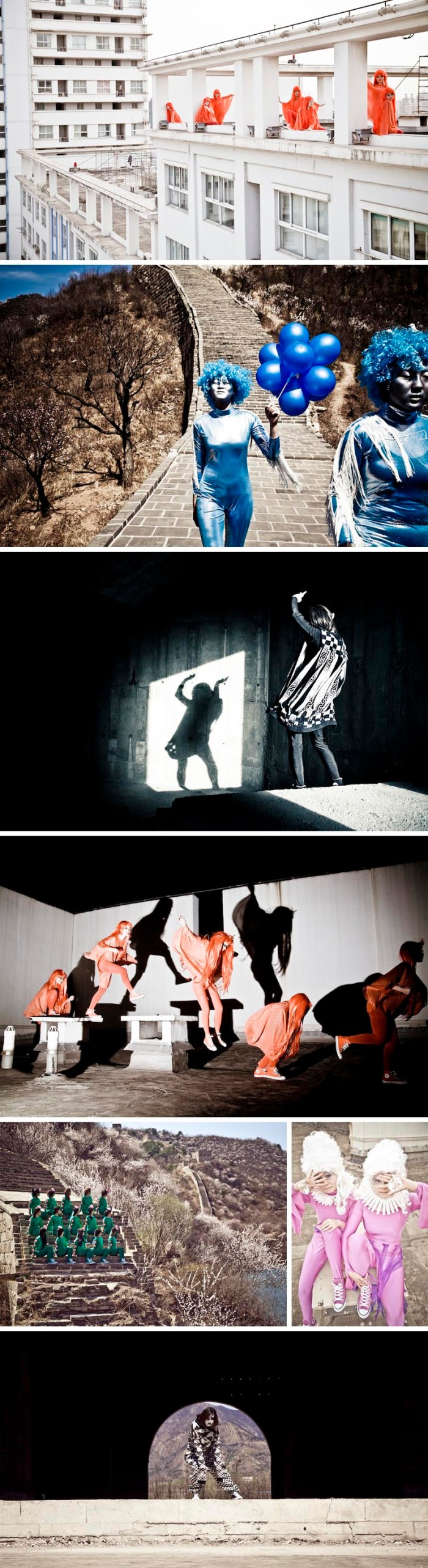Performance art, Kitty Von-Sometime, The Weird Girls Project, Icelandic contemporary art, Converse collaboration in China