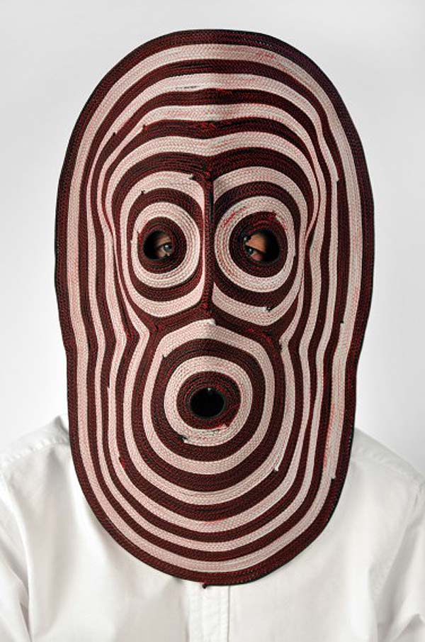 Studio Bertjan Pot, Dutch Design, materials experiment, crazy cool masks