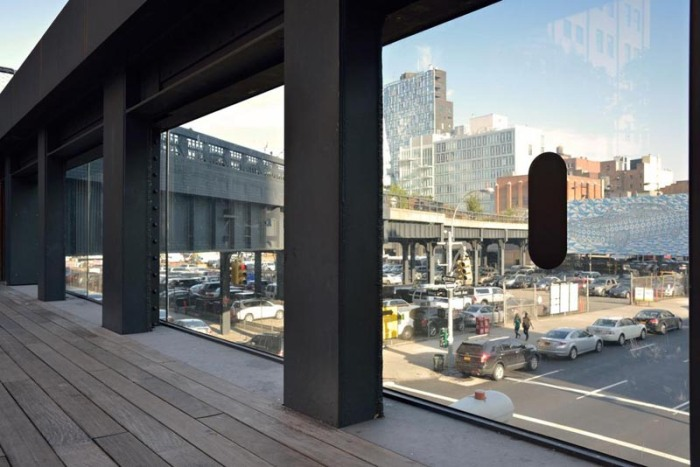 Richard Artschwager BLPS on and around High Line, NYC, in conjunction with Whitney Retrospective