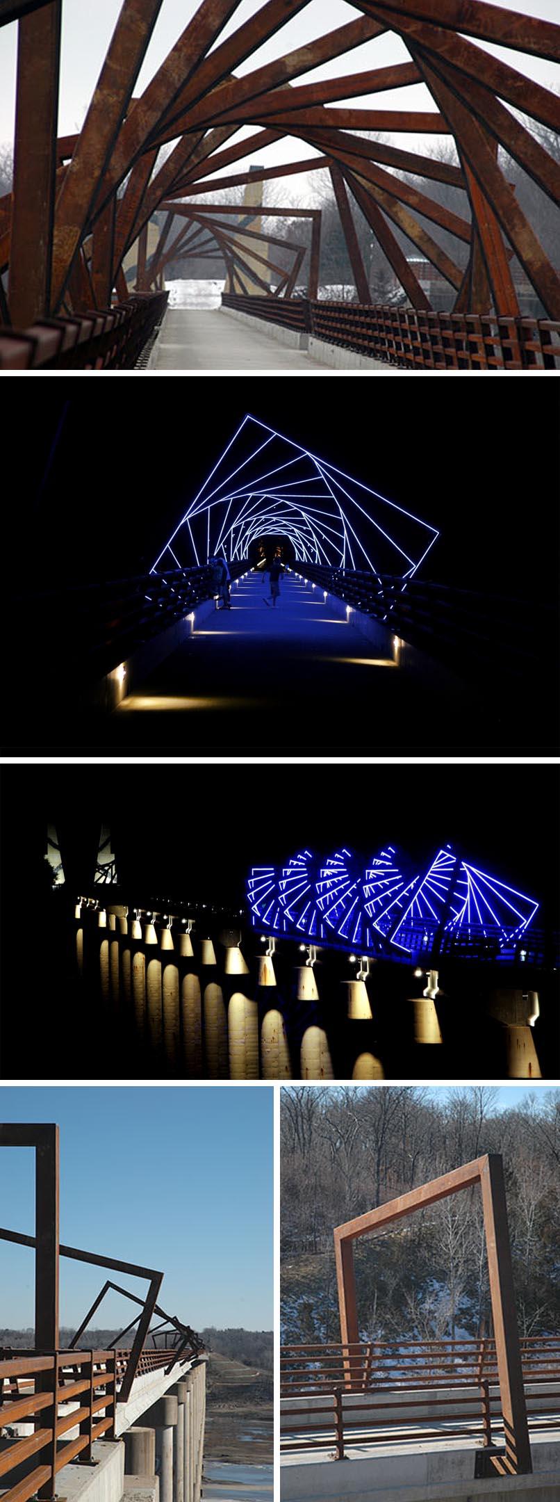 High Trestle Trail Bridge by RDG Dahlquist Art Studio