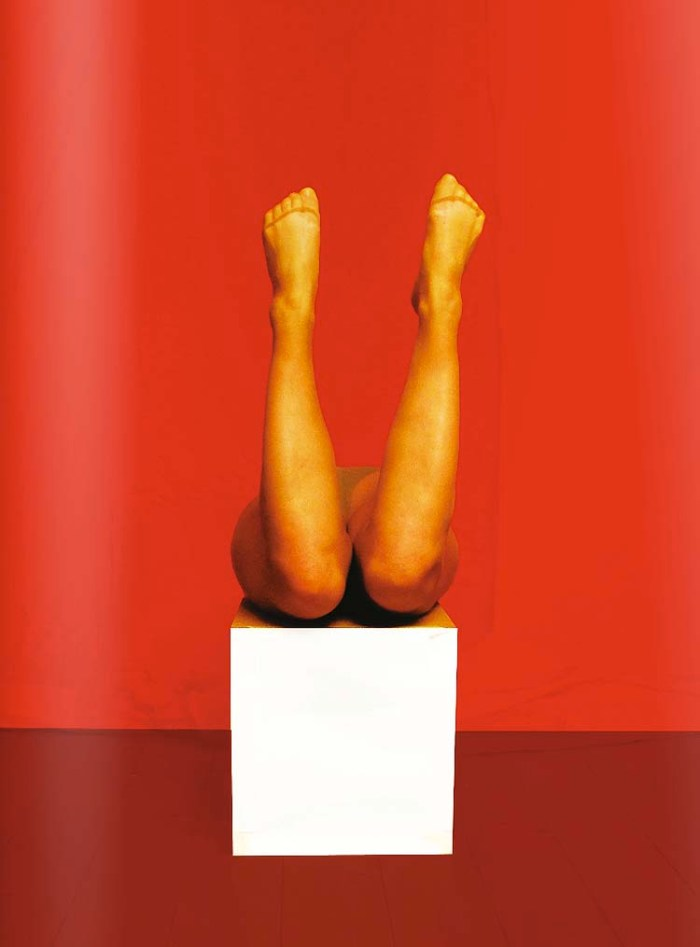 Contemporary photography, legs, humor, Polly's Picture Show, Artefacts, Isabelle Wenzel