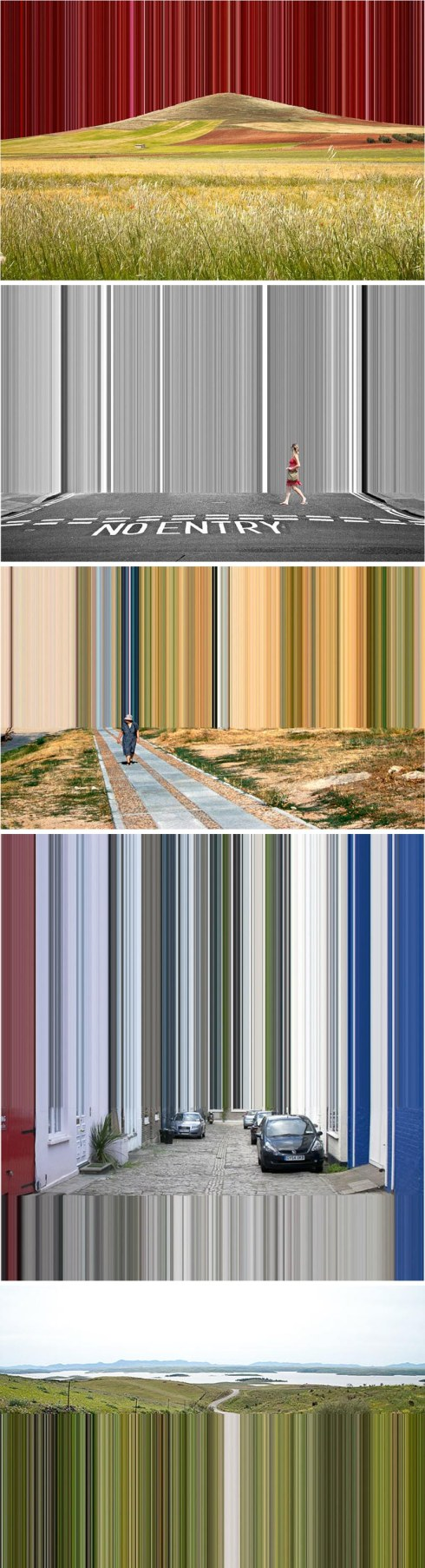 Manipulated photographs by German photographer Robert Schlaug. Beautiful and cool contemporary photography.