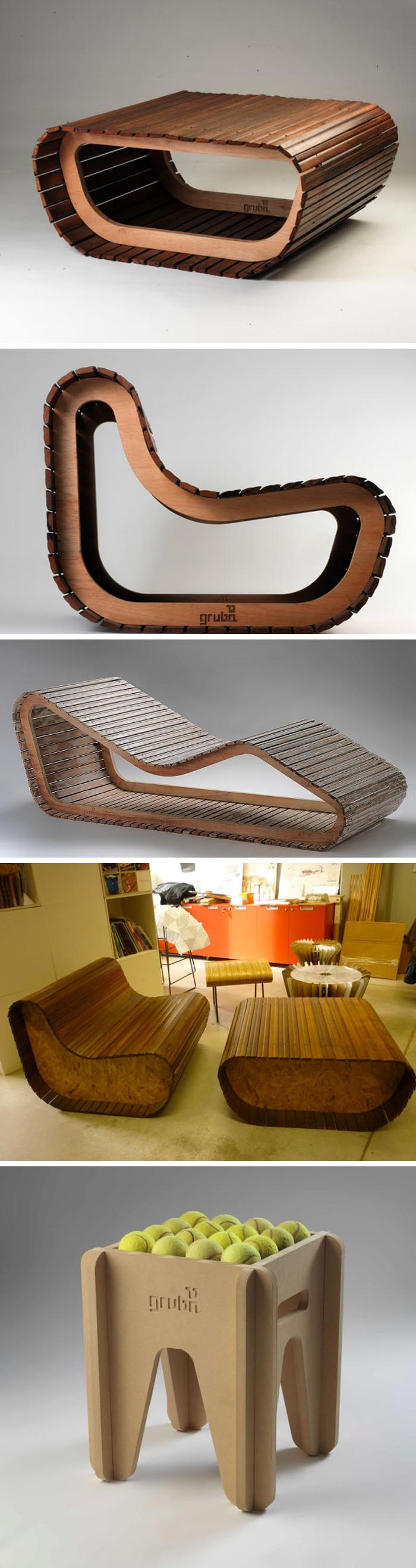 Gruba Sustainable Furniture Design Collabcubed