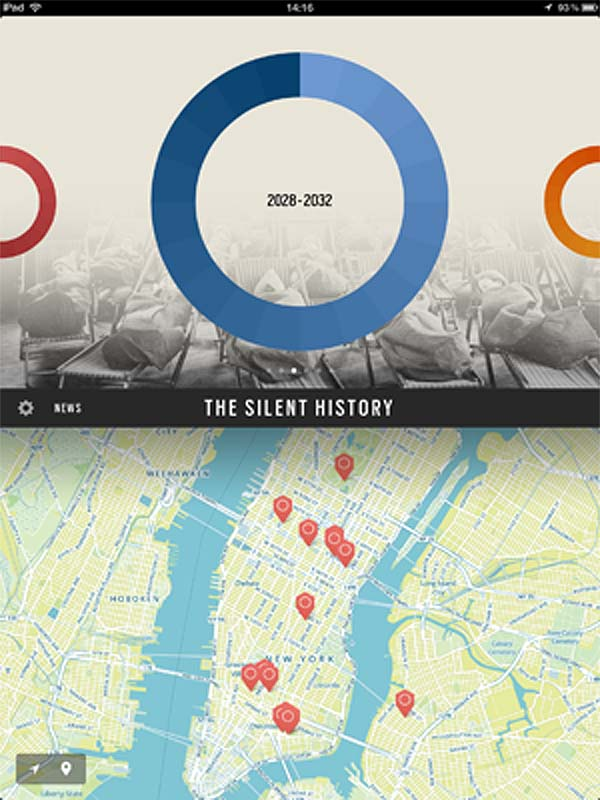The Silent History, ebook iphone app, digital storytelling experience, future of publishing, Eli Horowitz, Russell Quinn, Matt Derby, Kevin Moffett