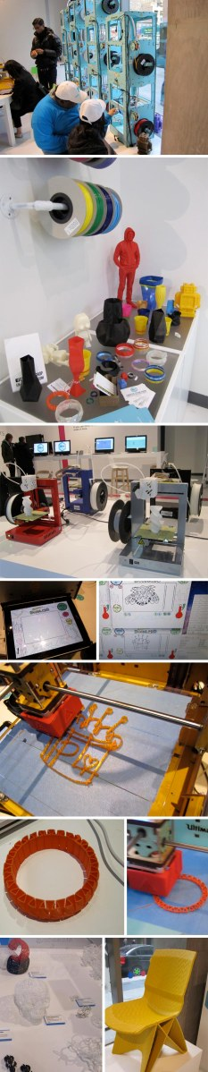 NYC Pop-up shop for 3D printing demonstrations and hands-on trials, Eventi Hotel, 3DEA, Openhouse