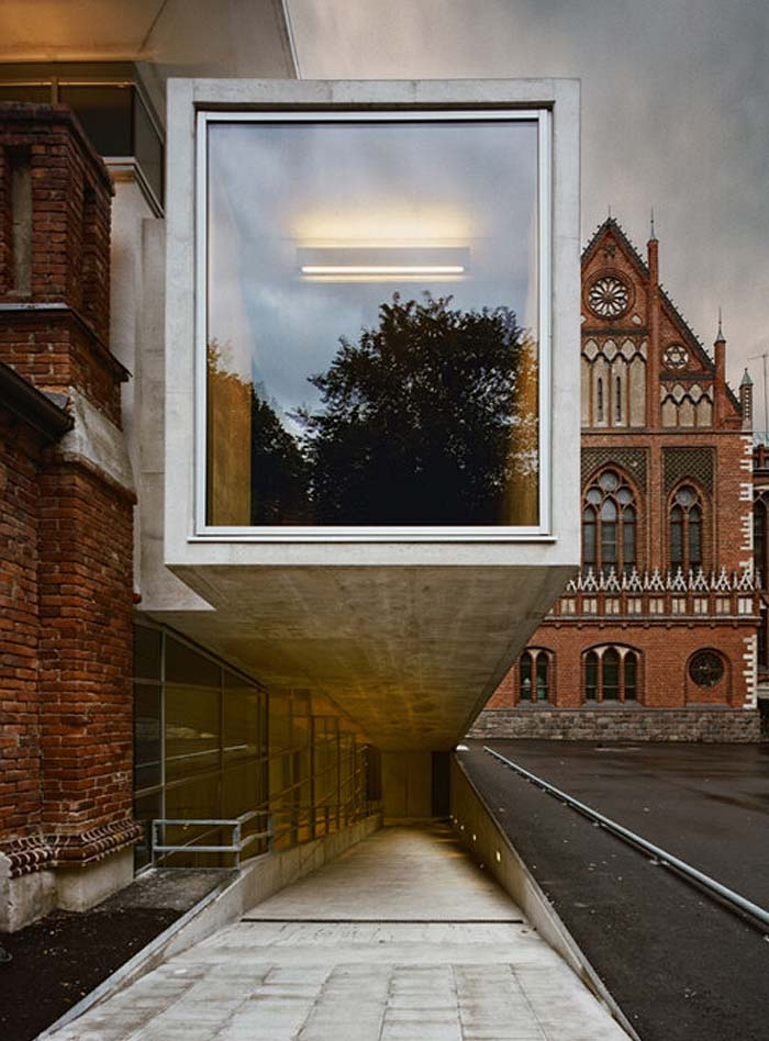 Lma exhibition and lecture hall szk collabcubed for Extension architecte