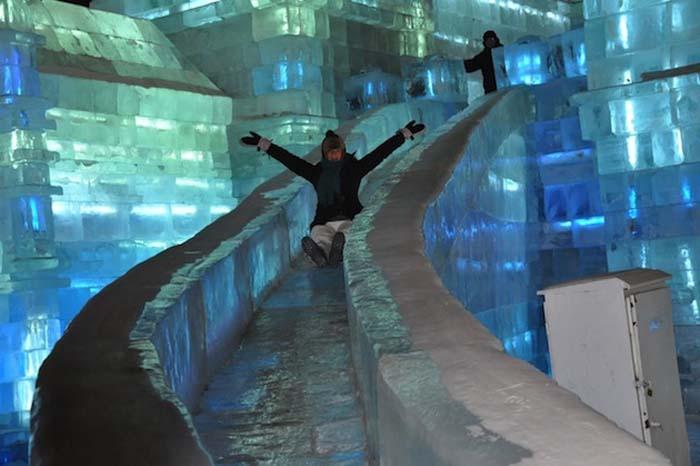 harbin ice festival castles slides collabcubed