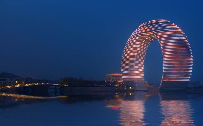 Huzhou China  City pictures : 자유게시판 중국 상하이에 도넛 모양 호텔 개장