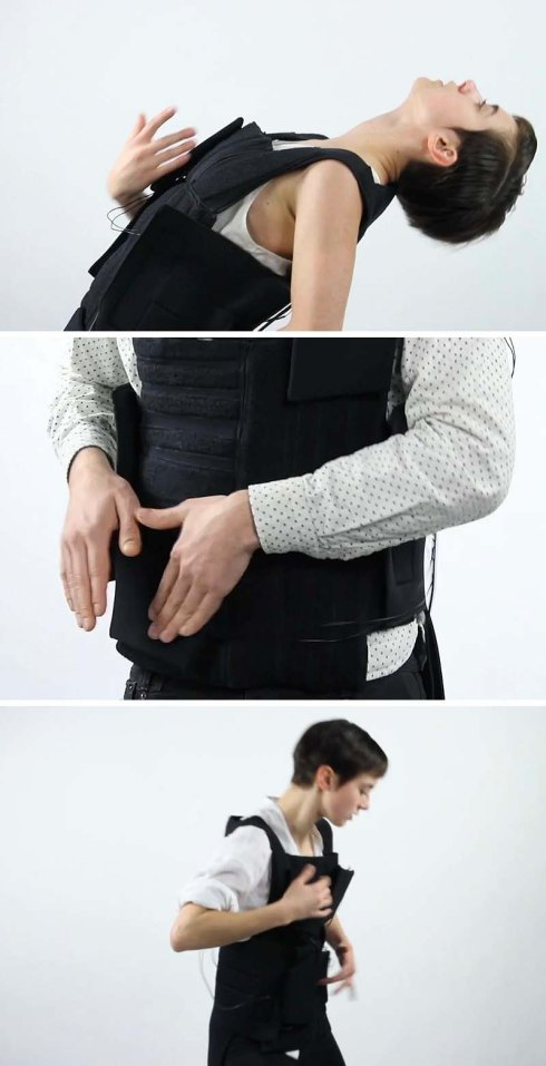 Wesley Chau, RISD ID Senior, Drop the Beat a wearable electronic drum set vest