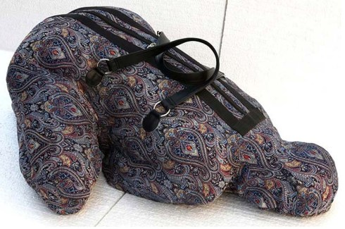 Nausheen Saeed, Contemporary Pakistani art, Belonging, Baggage, Luggage sculptures, Scope 2013