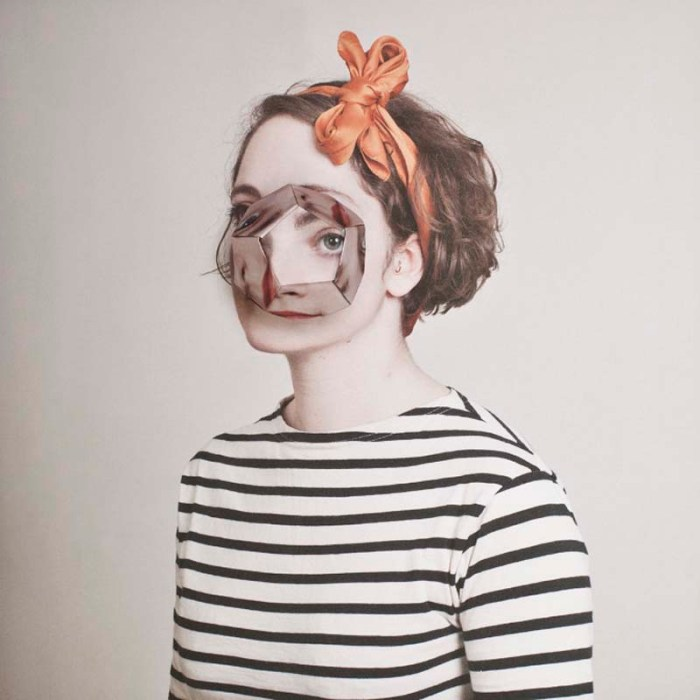 Alma Haser, Contemporary Photography, cosmic Surgery, origami faces