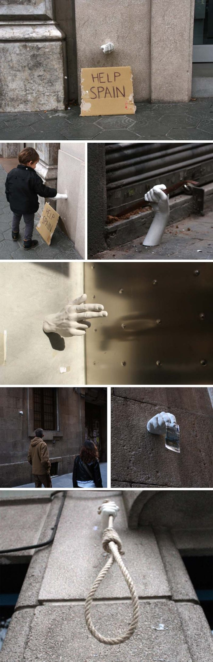 hands project, Manos, barcelona, octavi serra, mateu targa, daniel llugany, pau garcia, Street art in Spain, Graffiti