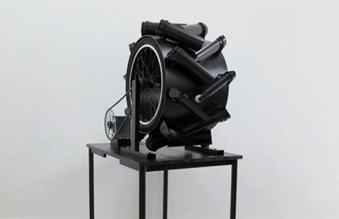 Kinetic Sculpture by Alexander Berchert, Hoover Tubes and Limbo, Kinetic Art Fair